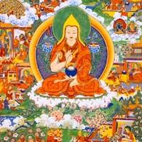 15 Thangkas of Lama Tsongkhapa