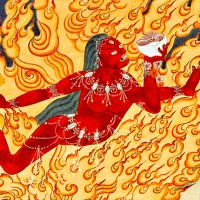 Praise to Vajrayogini